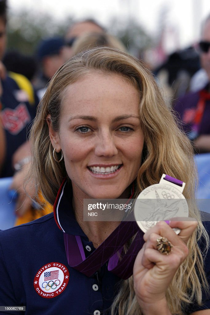 "NBC's ""Today"" reports from The 2012 London Olympics - Kerri Walsh Jennings, Misty Mae-Treanor, Jen Kessy, April Ross, Gabby Douglas, Lauren Scruggs"