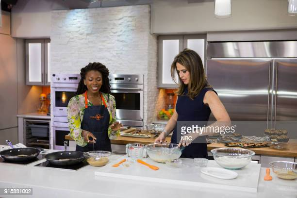 Jenné Claiborne and Savannah Guthrie on Tuesday Feb 6 2018