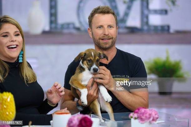 Jenna Bush Hager and Dierks Bentley on Wednesday August 1 2019