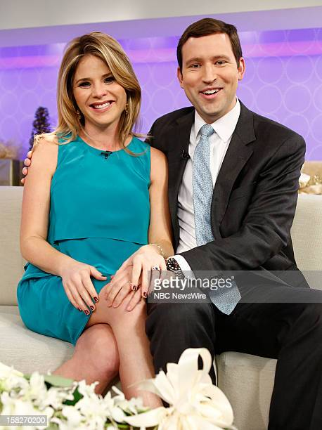 Jenna Bush Hager and Henry Hager appear on NBC News' Today show