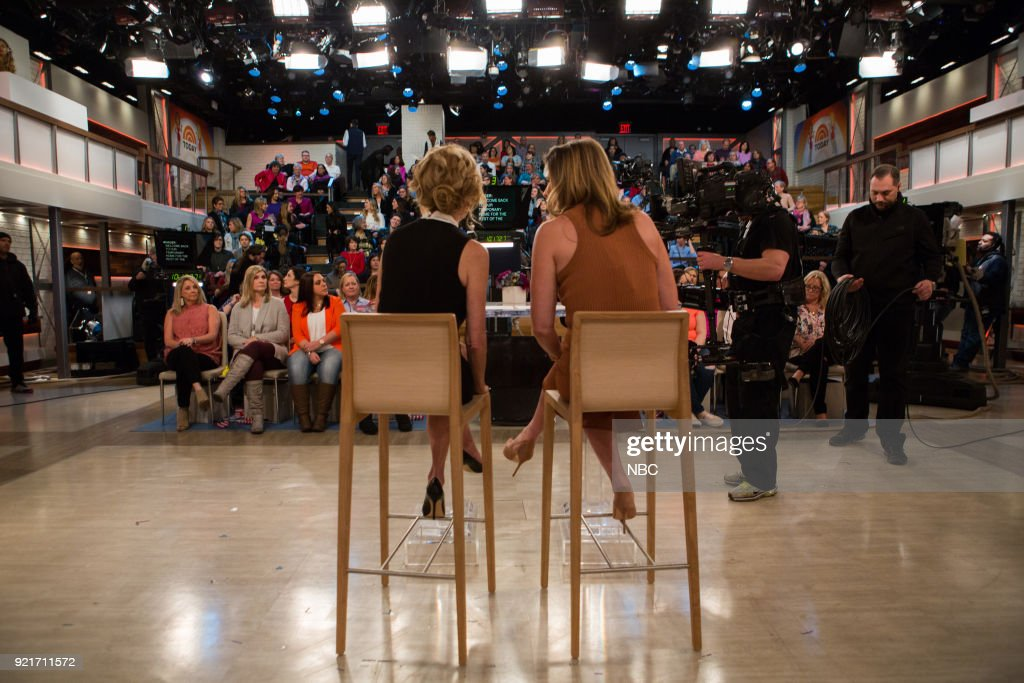Jenna Bush Hager and Kathie Lee Gifford on Tuesday, Feb. 20, 2018 --