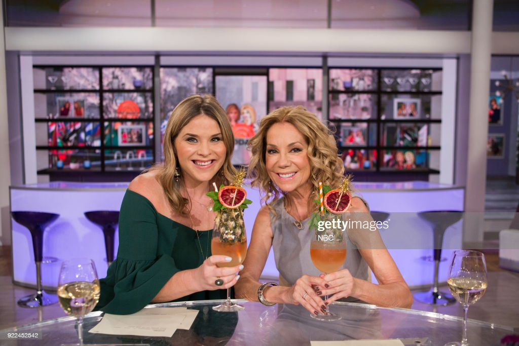 Jenna Bush Hager and Kathie Lee Gifford on Wednesday, Feb. 21, 2018 --