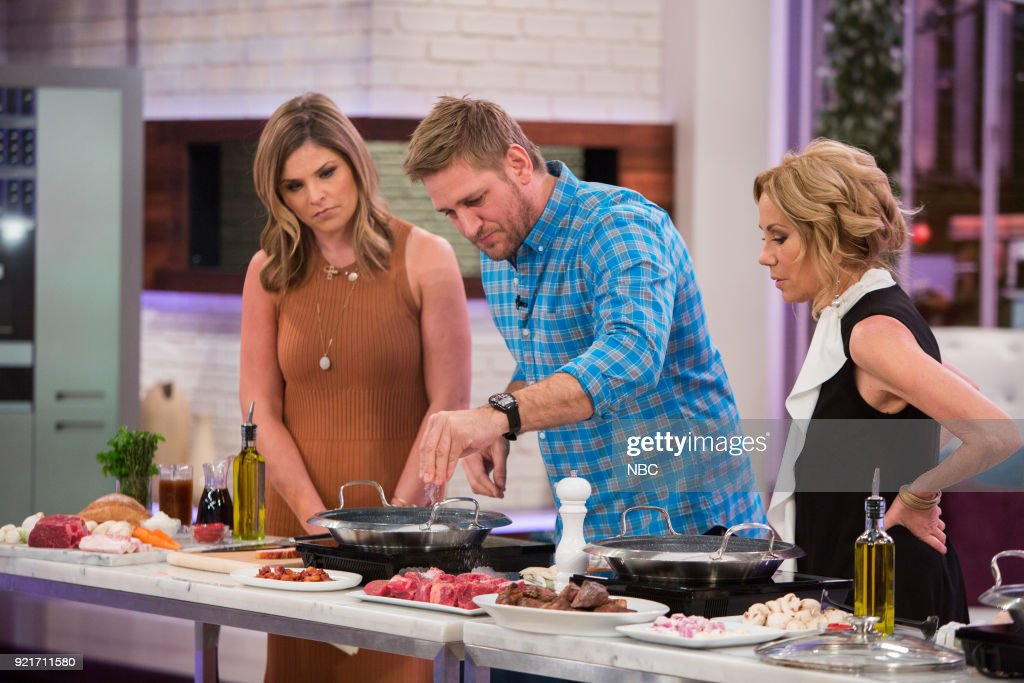 Jenna Bush Hager, Curtis Stone and Kathie Lee Gifford on Tuesday, Feb. 20, 2018 --
