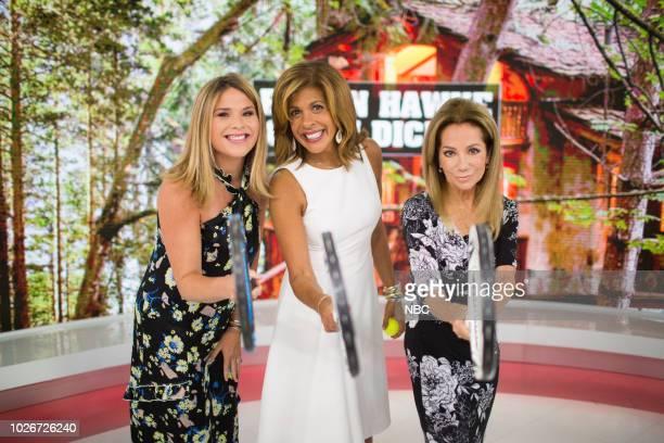 Jenna Bush Hager Hoda Kotb and Kathie Lee Gifford on Tuesday September 4 2018