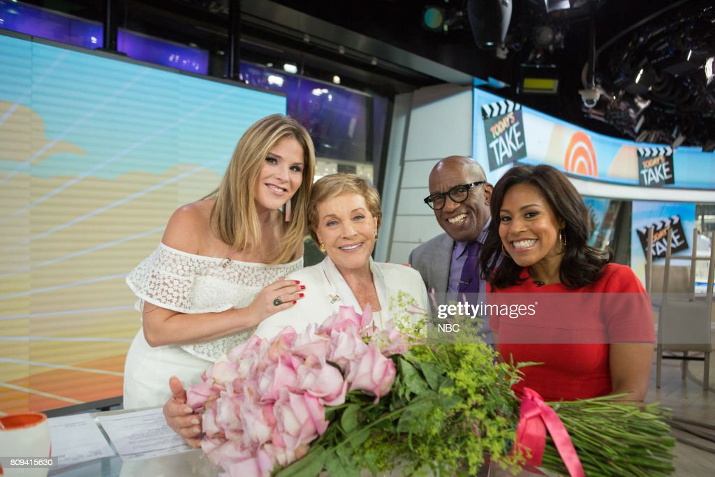 "NBC's ""Today"" With guests Scott Wolf, Justin Hartley, Julie Andrews"