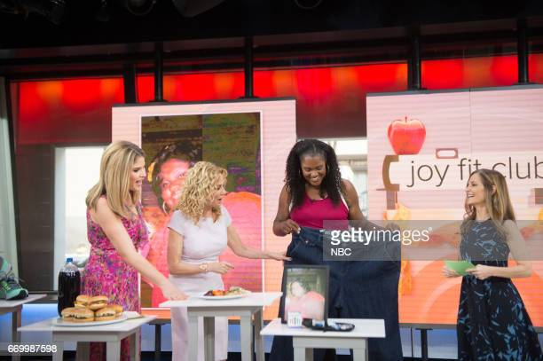 Jenna Bush Hager Kathie Lee Gifford speak with The Joy Fit Club has two new members One took up kickboxing and now can fit into her old jeans and the...