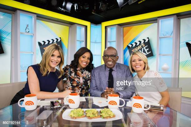 Jenna Bush Hager Sheinelle Jones Al Roker and Dylan Dreyer on Thursday September 21 2017