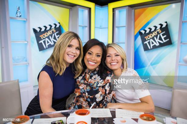 Jenna Bush Hager Sheinelle Jones and Dylan Dreyer on Thursday September 21 2017