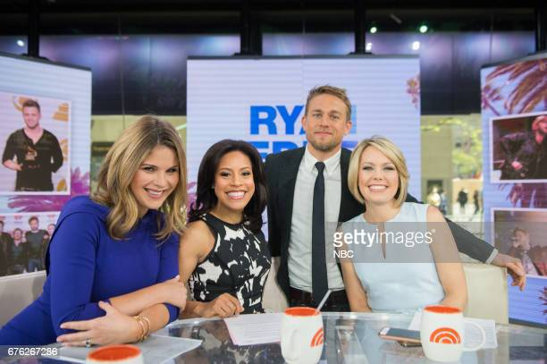Jenna Bush Hager Sheinelle Jones Dylan Dreyer and Charlie Hunnam on Tuesday May 2 2017