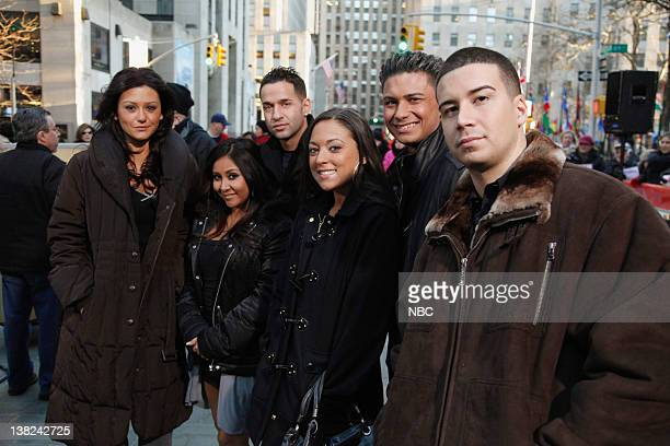 Jenni 'JWoww' Farley Nicole 'Snooki' Polizzi Mike 'The Situation' Sorrentino Sammi 'Sweetheart' Giancola Paul 'DJ Pauly D' DelVecchio Vinny...