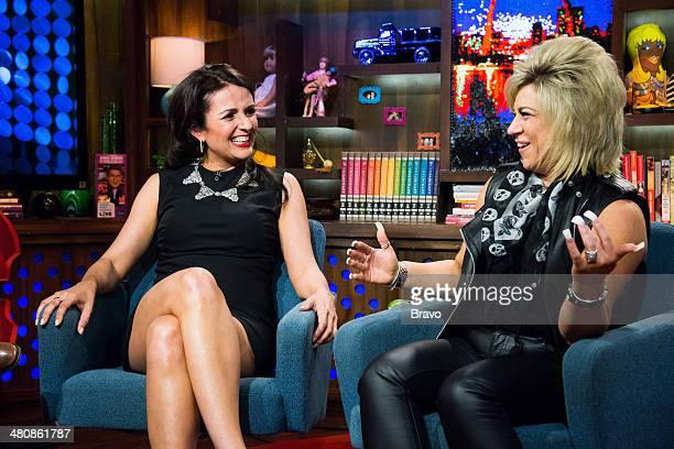Jenni Pulos and Theresa Caputo