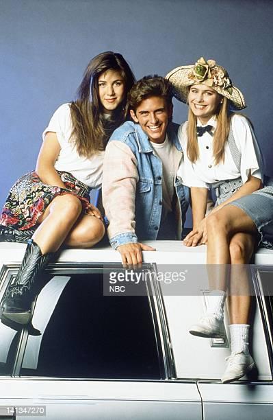 188d67b9c Jennifer Aniston as Jeannie Bueller Charlie Schlatter as Ferris Bueller Ami  Dolenz as Sloan Peterson Photo