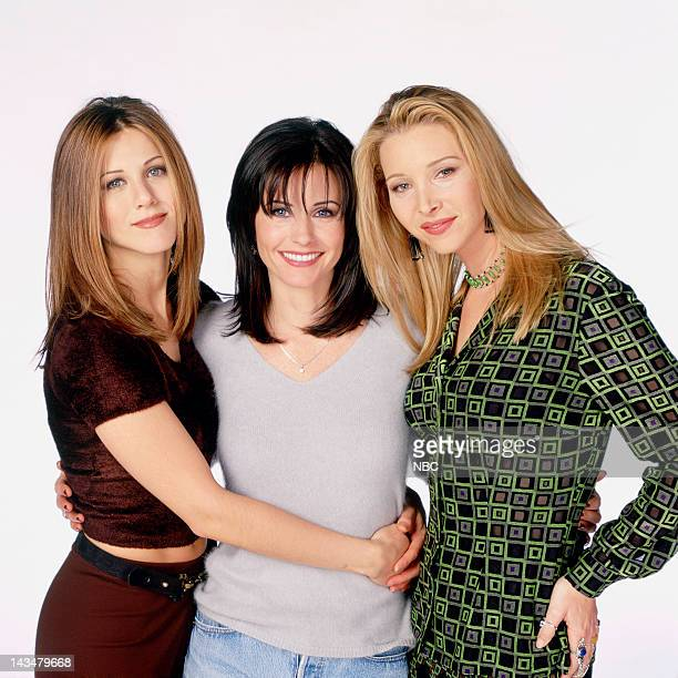 Jennifer Aniston as Rachel Green Courteney Cox Arquette as Monica Geller Lisa Kudrow as Phoebe Buffay
