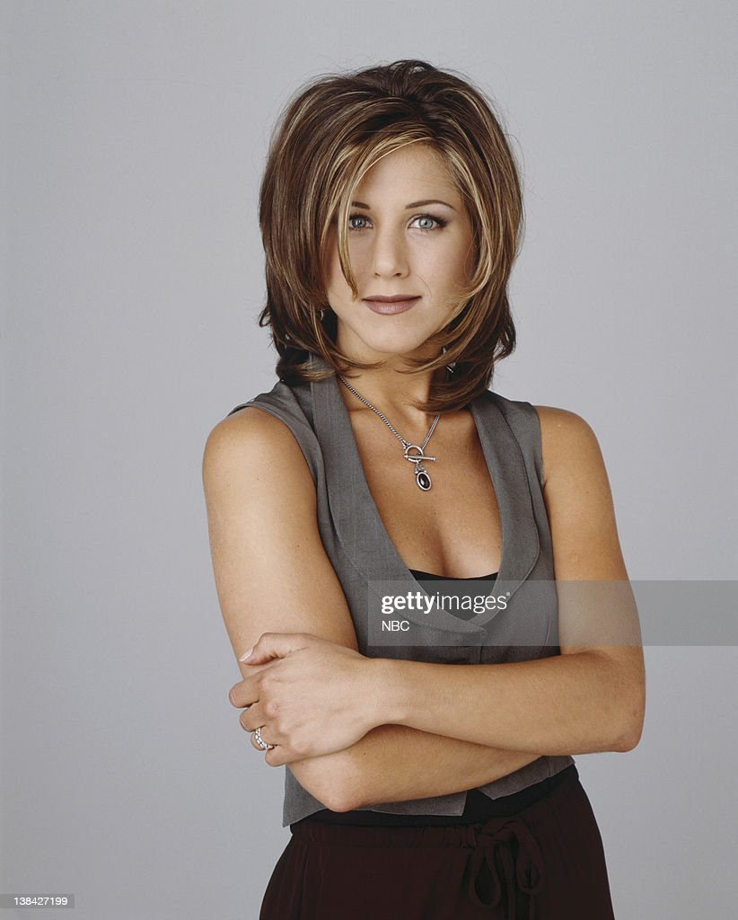 Jennifer Aniston's hairstyle 'The Rachel' on the show 'Friends' became much mimicked as the series' popularity grew.