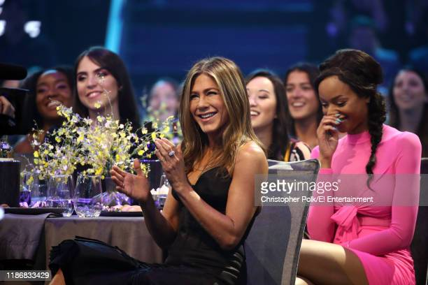 Jennifer Aniston attends the 2019 E People's Choice Awards held at the Barker Hangar on November 10 2019 NUP_188993