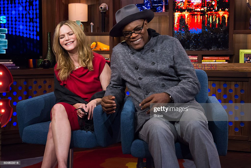 Jennifer Jason Leigh and Samuel L. Jackson --