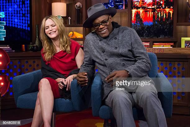Jennifer Jason Leigh and Samuel L Jackson