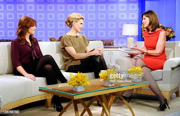 Jennifer Koppelmann Hutt Alexis Stewart and Savannah Guthrie appear on NBC News' Today show
