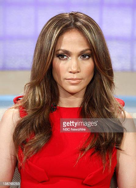 Jennifer Lopez appears on NBC News' 'Today' show