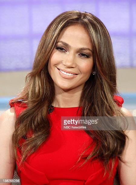 "Jennifer Lopez appears on NBC News' ""Today"" show"