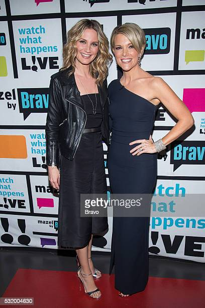 Jennifer Nettles and Megyn Kelly