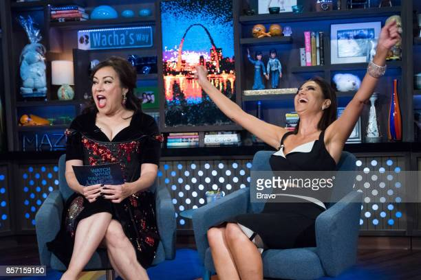 Jennifer Tilly and Peggy Sulahian