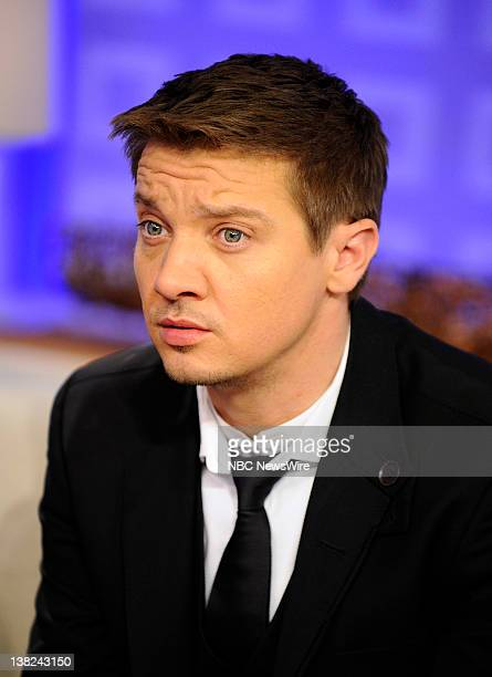 Jeremy Renner appears on NBC News' Today show