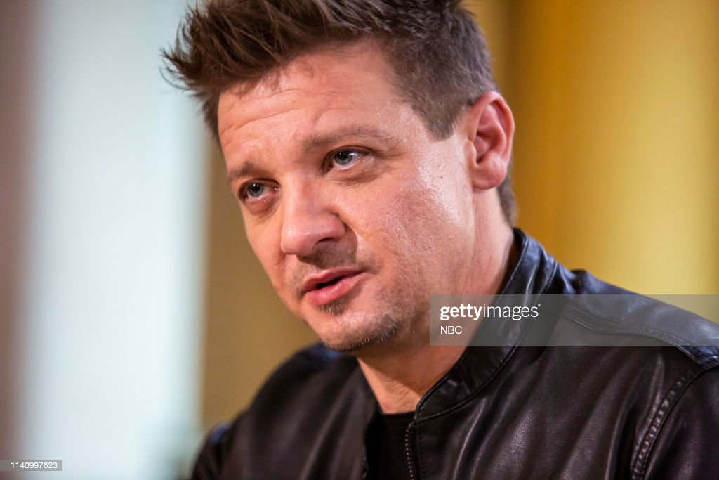 "NY: NBC's ""Sunday TODAY with Willie Geist"" with Jeremy Renner"