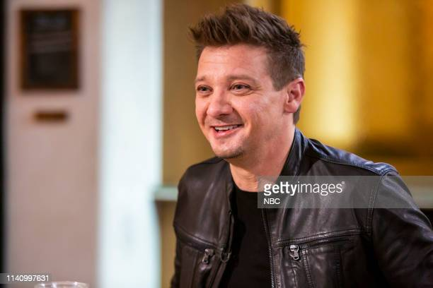 Jeremy Renner on April 28 2019