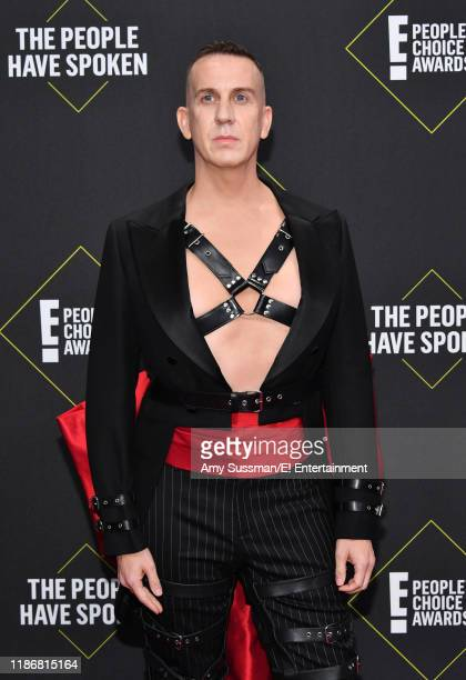 Jeremy Scott arrives to the 2019 E People's Choice Awards held at the Barker Hangar on November 10 2019 NUP_188989
