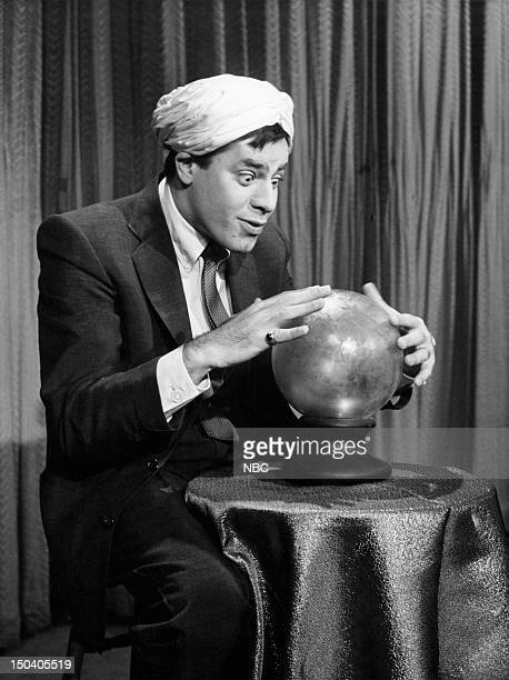 Jerry Lewis as Swami in 1957