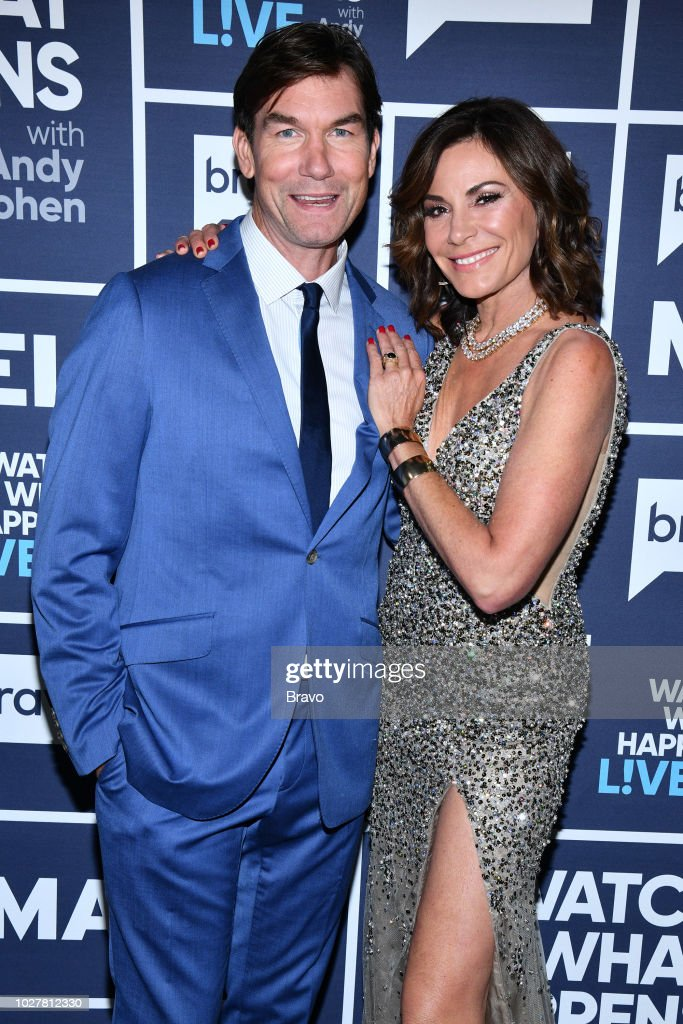 Jerry O'Connell and Luann de Lesseps --