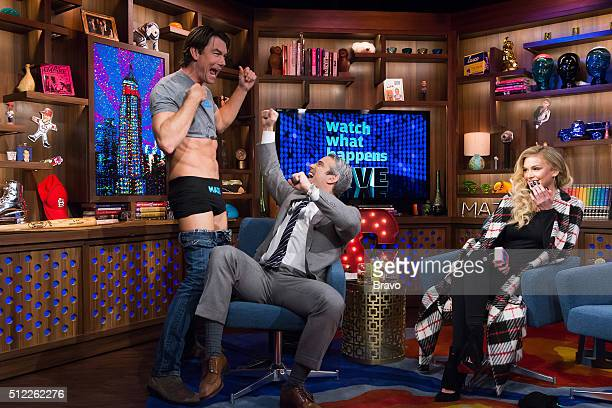 Jerry O'Connell Andy Cohen and Lala Kent