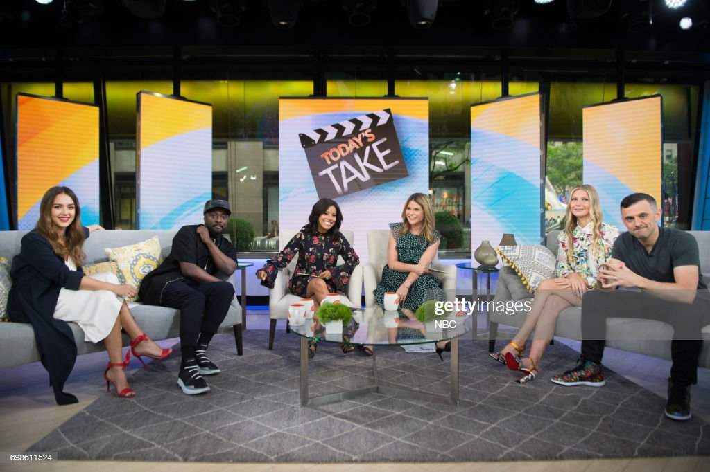 "NBC's ""Today"" With guests Gwyneth Paltrow, Olivia Wilde, Jessica Alba, Will. I. Am"