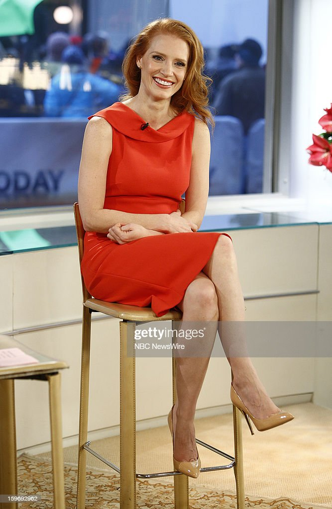 Jessica Chastain appears on NBC News' 'Today' show --