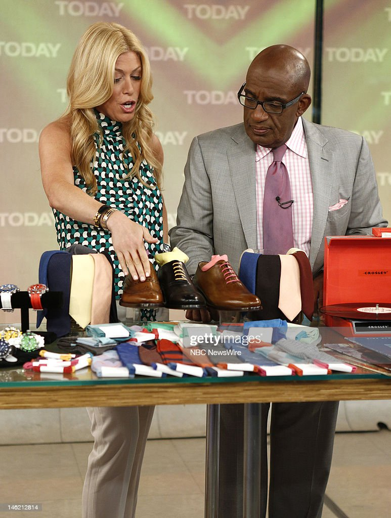 Jill Martin and Al Roker appear on NBC News' 'Today' show --