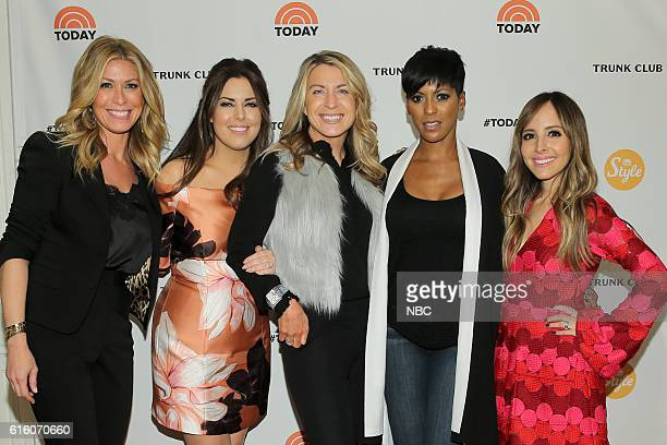 Pictured: Jill Martin and Bobbie Thomas, TODAY style squad, Deborah Turness, NBC News President, Tamron Hall, TODAY host and Lilliana Vazquez, TODAY...