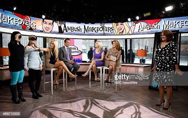 Jill Martin Louis Licari Kathie Lee Gifford and Hoda Kotb appear on NBC News' Today show