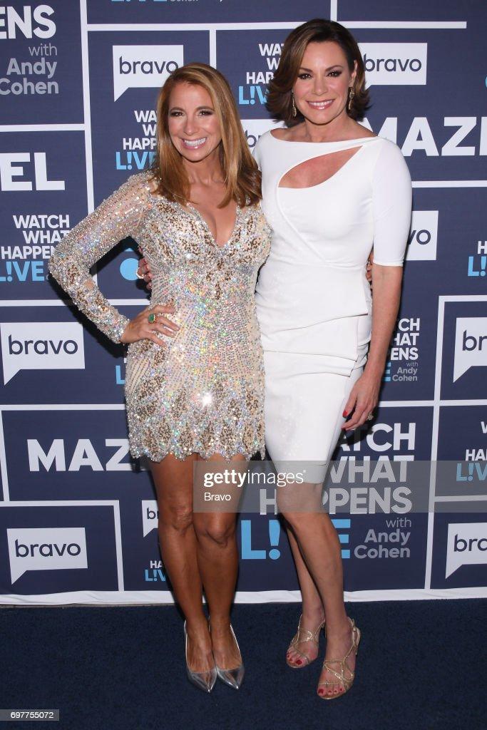 Jill Zarin and Luann D'Agostino --