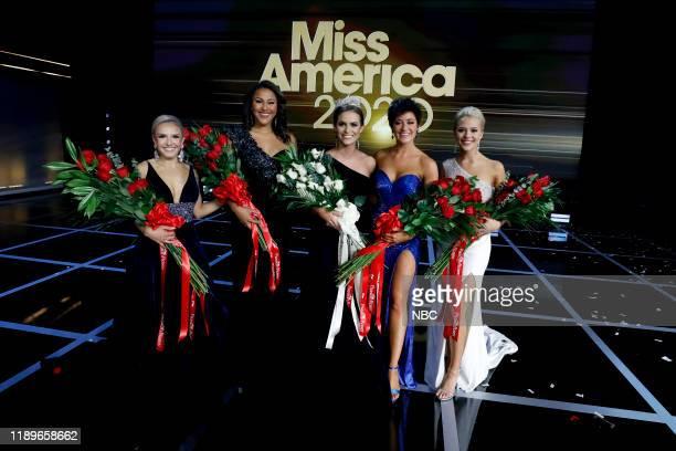 Pictured: Jillian Duffy, Miss Connecticut 2019; Simone Esters, Miss Missouri 2019; Camille Schrier, Miss America 2020; Victoria Hill, Miss Georgia...