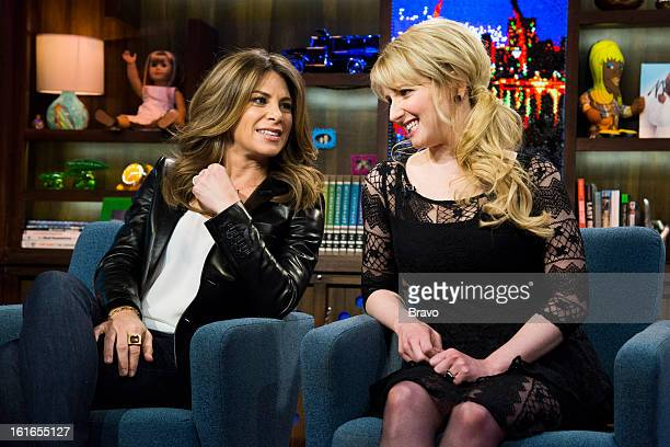 Jillian Michaels and Melissa Rauch Photo by Charles Sykes/Bravo/NBCU Photo Bank via Getty Images