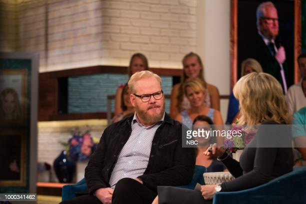 Jim Gaffigan and Megyn Kelly on Monday July 16 2018