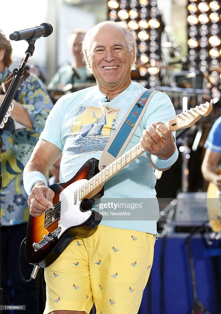 "NBC's ""Today"" With Guests Jimmy Buffett, Luke Bryan"