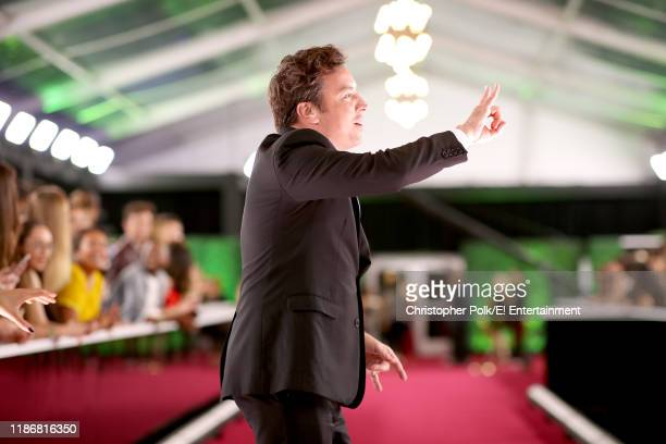 Jimmy Fallon arrives to the 2019 E People's Choice Awards held at the Barker Hangar on November 10 2019 NUP_188992