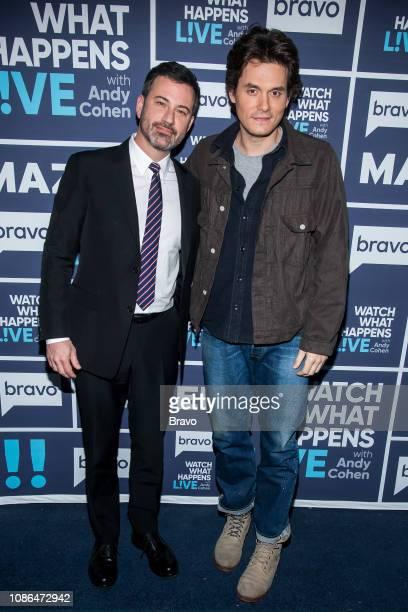 Jimmy Kimmel and John Mayer