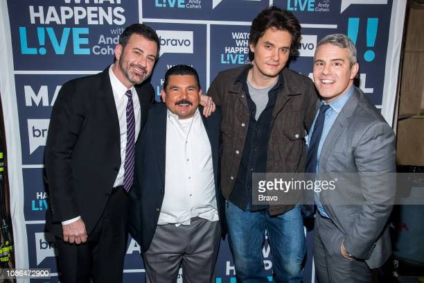 Jimmy Kimmel Guillermo Rodriguez John Mayer and Andy Cohen