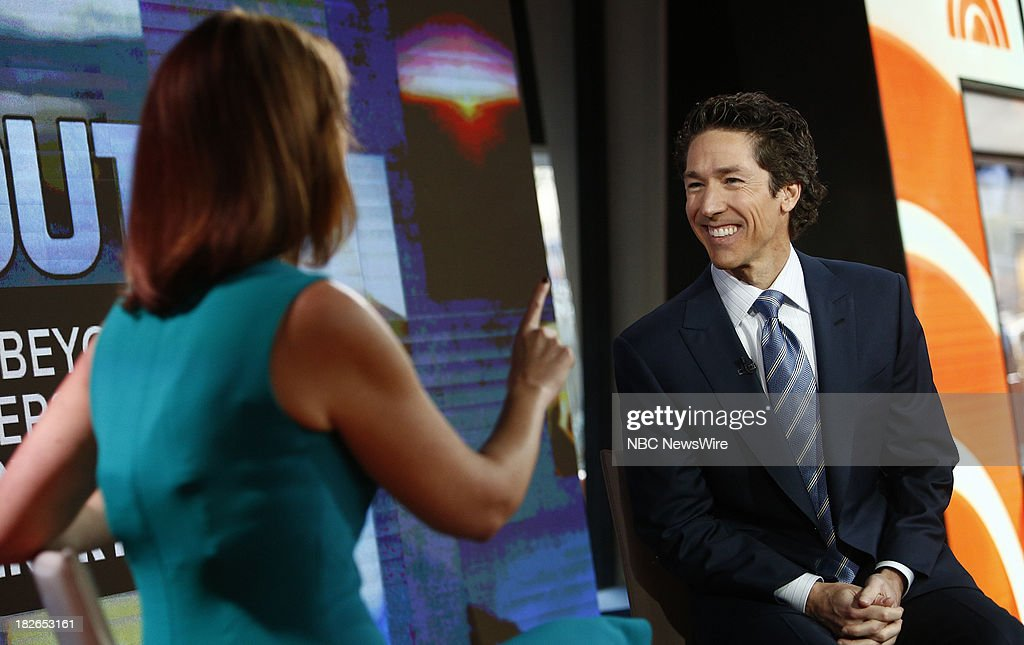 "NBC's ""Today"" With Guests Blair Underwood, Joel Osteen, David Arquette, Padma Lakshmi"