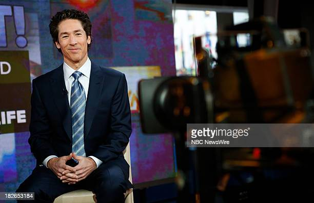 Joel Osteen appears on NBC News' Today show