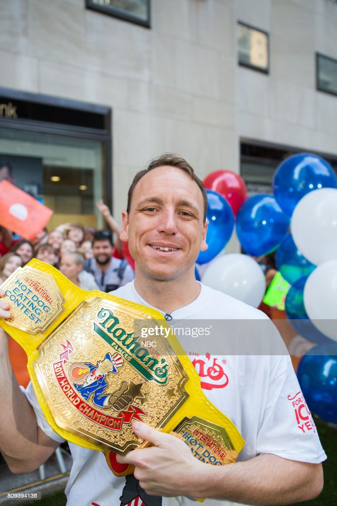 "NBC's ""Today"" With guests Cirque de Soleil, Joey Chestnut, Dean Cain"