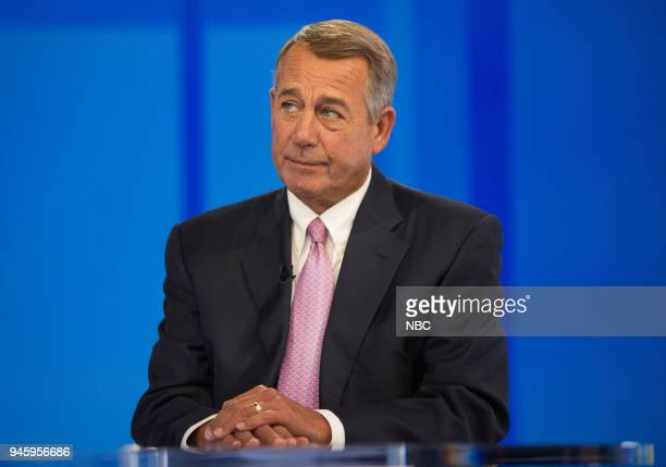 John Boehner on Friday April 13 2018